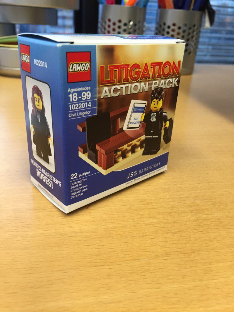 LAWGO Litigation action pack. Image via JSS Barristers.
