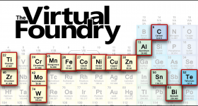 The Virtual Foundry range of materials. Image via The Virtual Foundry.