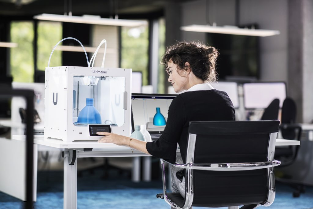 The Ultimaker S3. Photo via Ultimaker