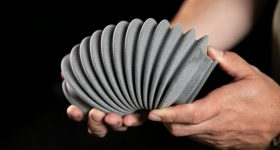Product manufactured using BASF TPU. Photo via Materialise.