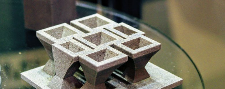 Wolfmet 3D tungsten additive manufacturing. Photo by Michael Petch.