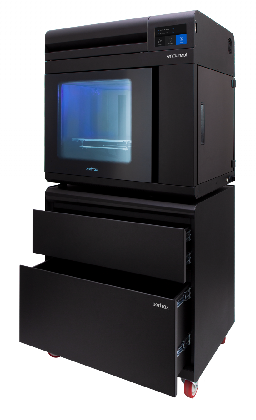 The Zortrax Endureal 3D printer. Photo via Zortrax.