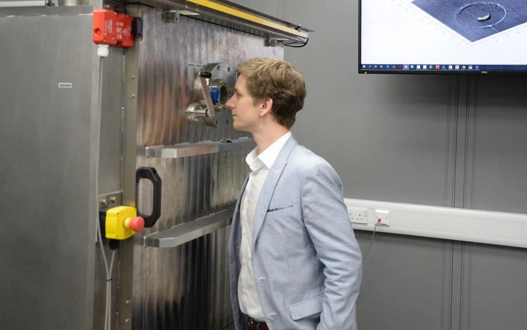 Wayland Additive raises £3 million to develop electron beam