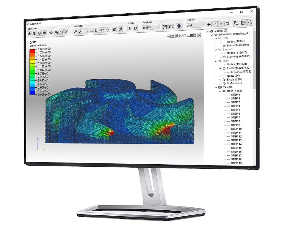 The AdditiveLab simulation software. Image via AdditiveLab.
