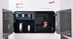 The OVE 3D printer. Photo via OVE.