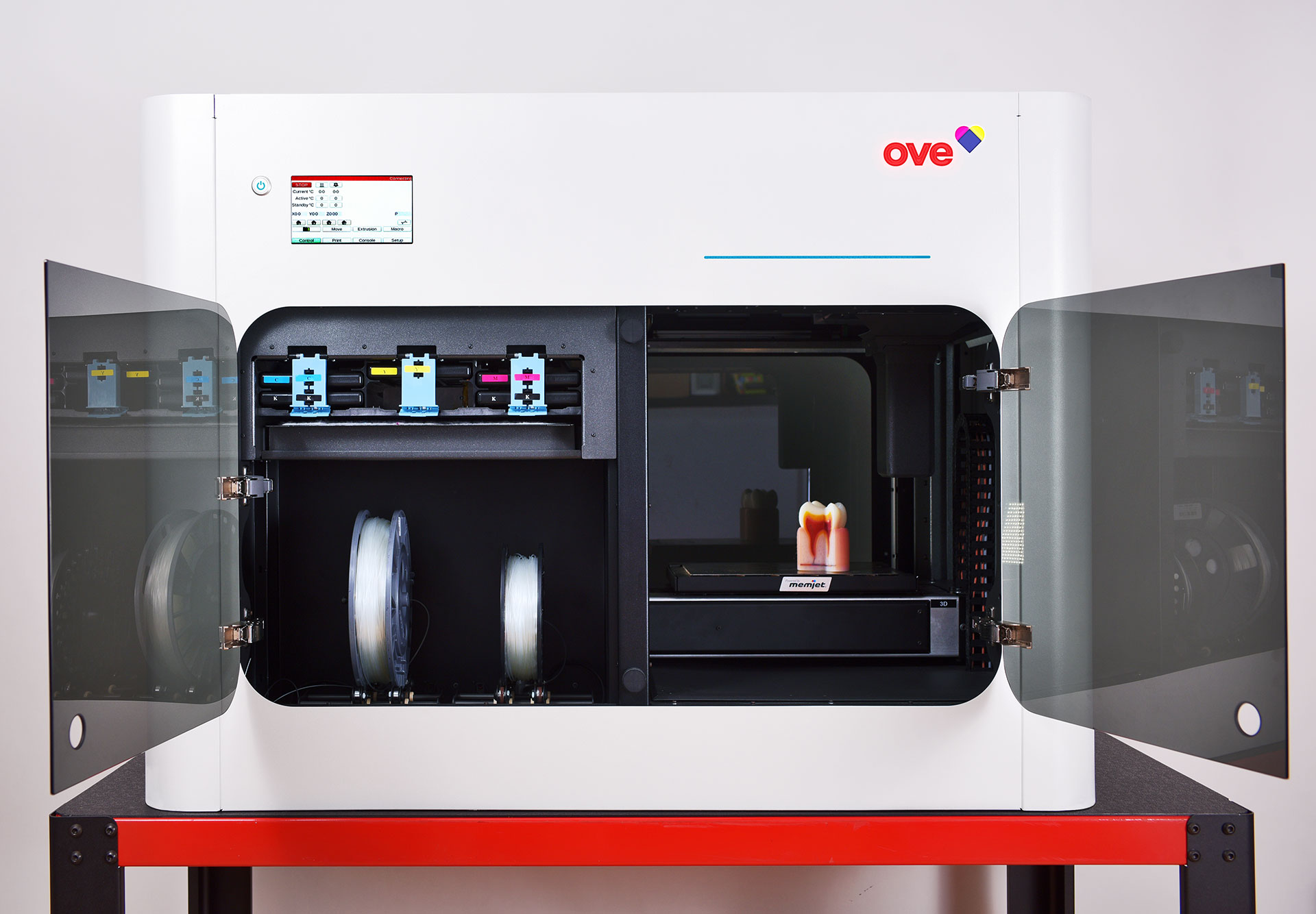 The OVE 3D printer. Photo via OVE.