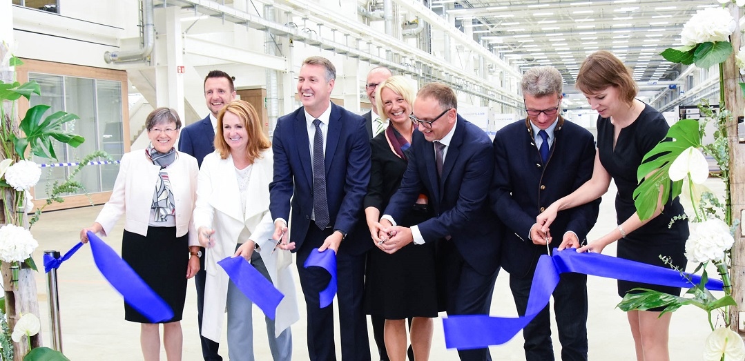 The opening of the GE Additive Lichtenfels facility. Photo via GE Additive.