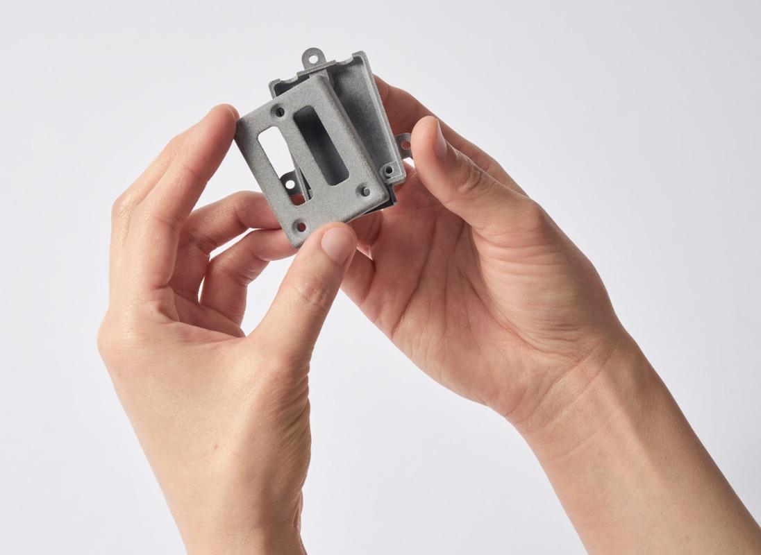 A 3D printed part. Photo via Shapeways.