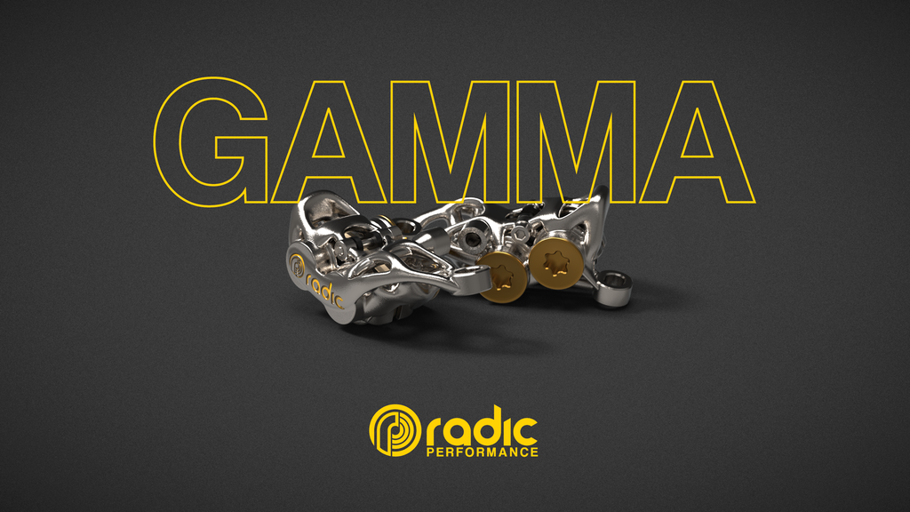 Radic GAMMA bike brakes by Radic Cycling. Image via Radic Cycling.