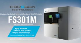 The FS301M metal 3D printer from Farsoon. Photo via Farsoon Technologies