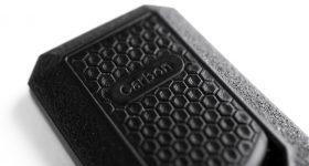 Key fob made with RPU 130 resin. Photo via Carbon.