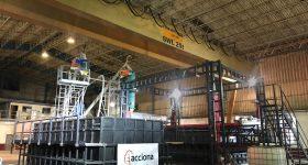 ACCIONA's 3D printing center. Photo via ACCIONA.