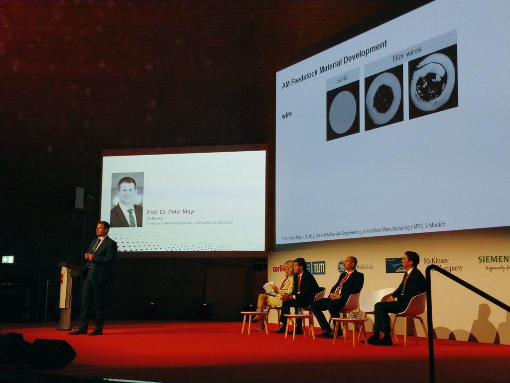 Professor Peter Mayr of TU Munich speaking at MTC3. Photo by Tia Vialva.