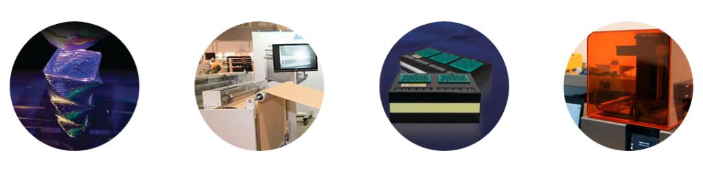 UV+EB photopolymer technologies. Image via RadLaunch