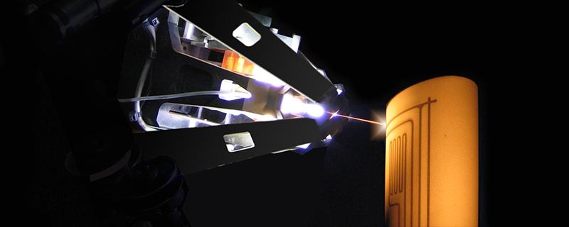 MesoPlasma™ 3D printing technology. Photo via MesoScribe