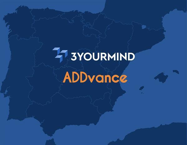 3YOURMIND partners with ADDvance to expand into Spanish AM market. Image via 3YOURMIND.