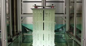 The HARP 3D printing process. Photo via Northwestern University.