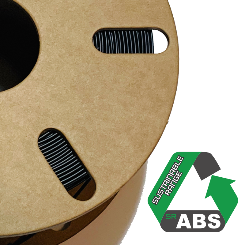 Sustainable ABS spool offered by Lancashire3D. Photo via Lancashire3D.