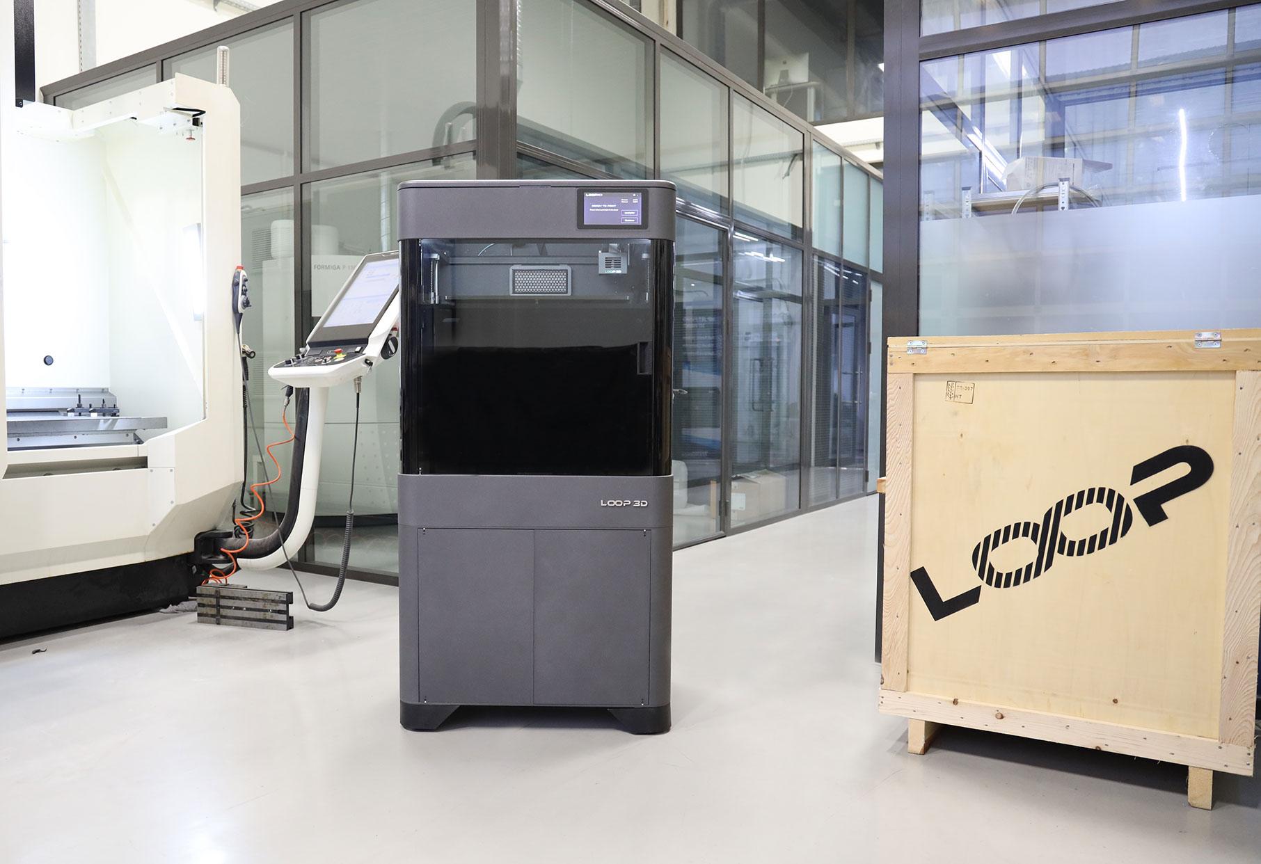 The LOOP PRO 3D printer. Photo via LOOP 3D.