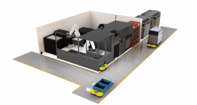 AMT's Digital Manufacturing System assembly. Image via AMT.