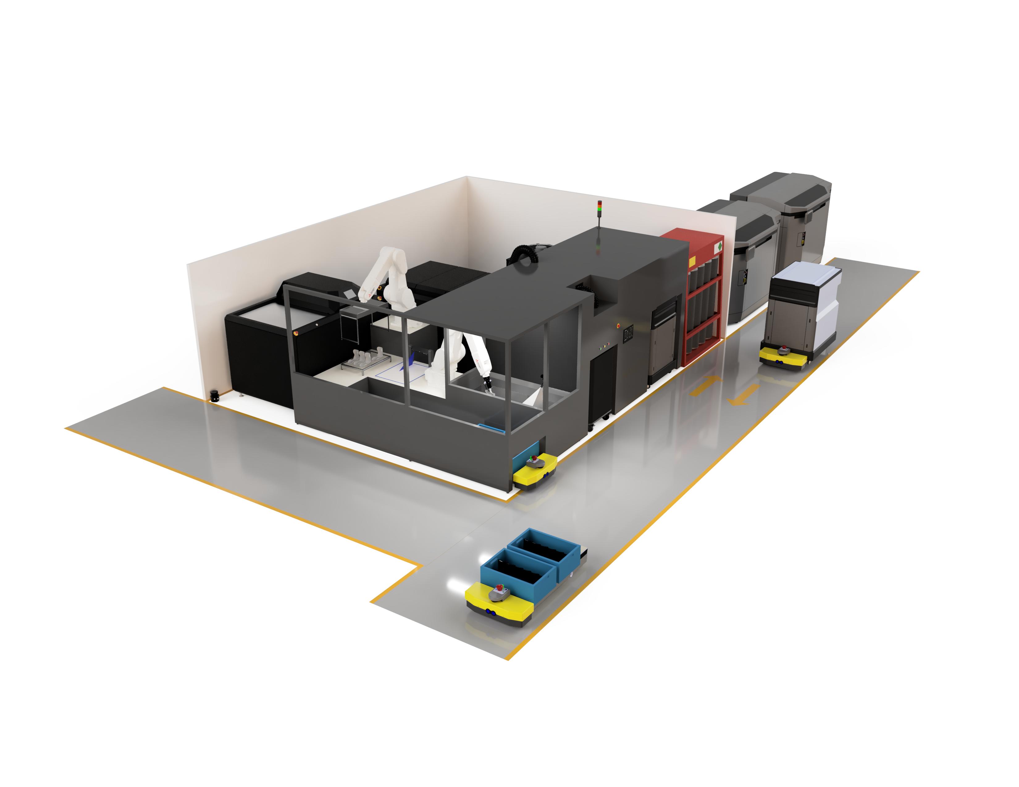 AMT's Digital Manufacturing System assembly. Image via AMT.
