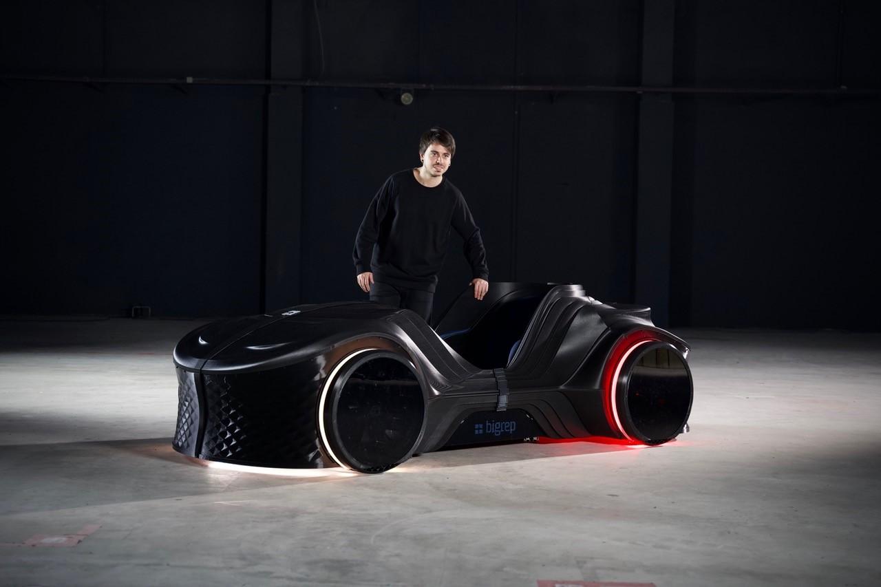 The LOCI prototype. Photo via BigRep.
