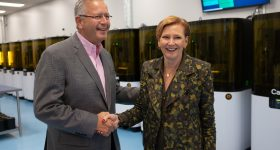 Carbon Appoints Ellen Kullman President and CEO, Dr. Joseph DeSimone Named Executive Chairman Photo via Carbon