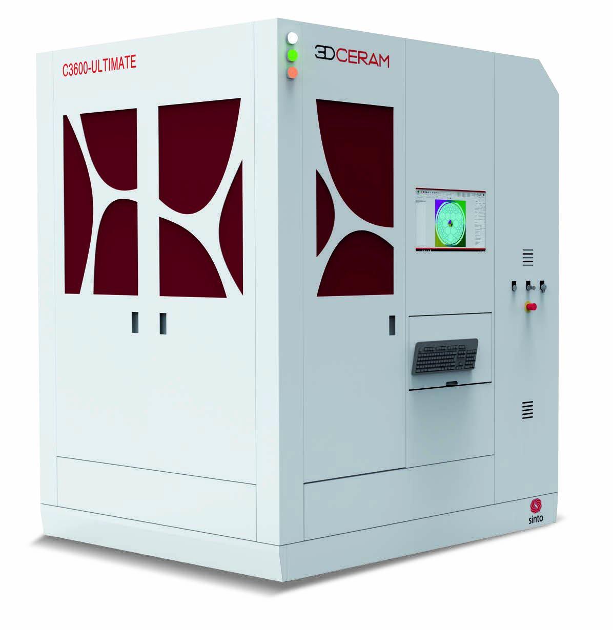 The 3DCeram C3600 Ultimate 3D printer. Photo via 3DCeram.