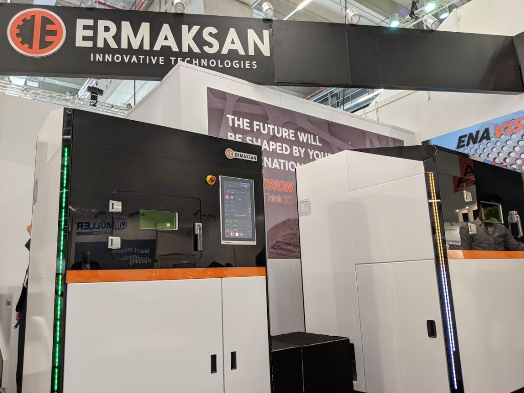 ERMASKAN at formnext 2019. Photo by Michael Petch.