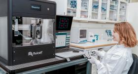 Fluicell's Biopixlar 3D bioprinter. Photo via Fluicell.