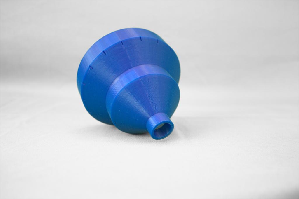 Circular funnel test on the Creator 3.
