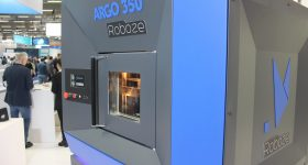 The ROBOZE ARGO 350 3D printer. Photo via ROBOZE