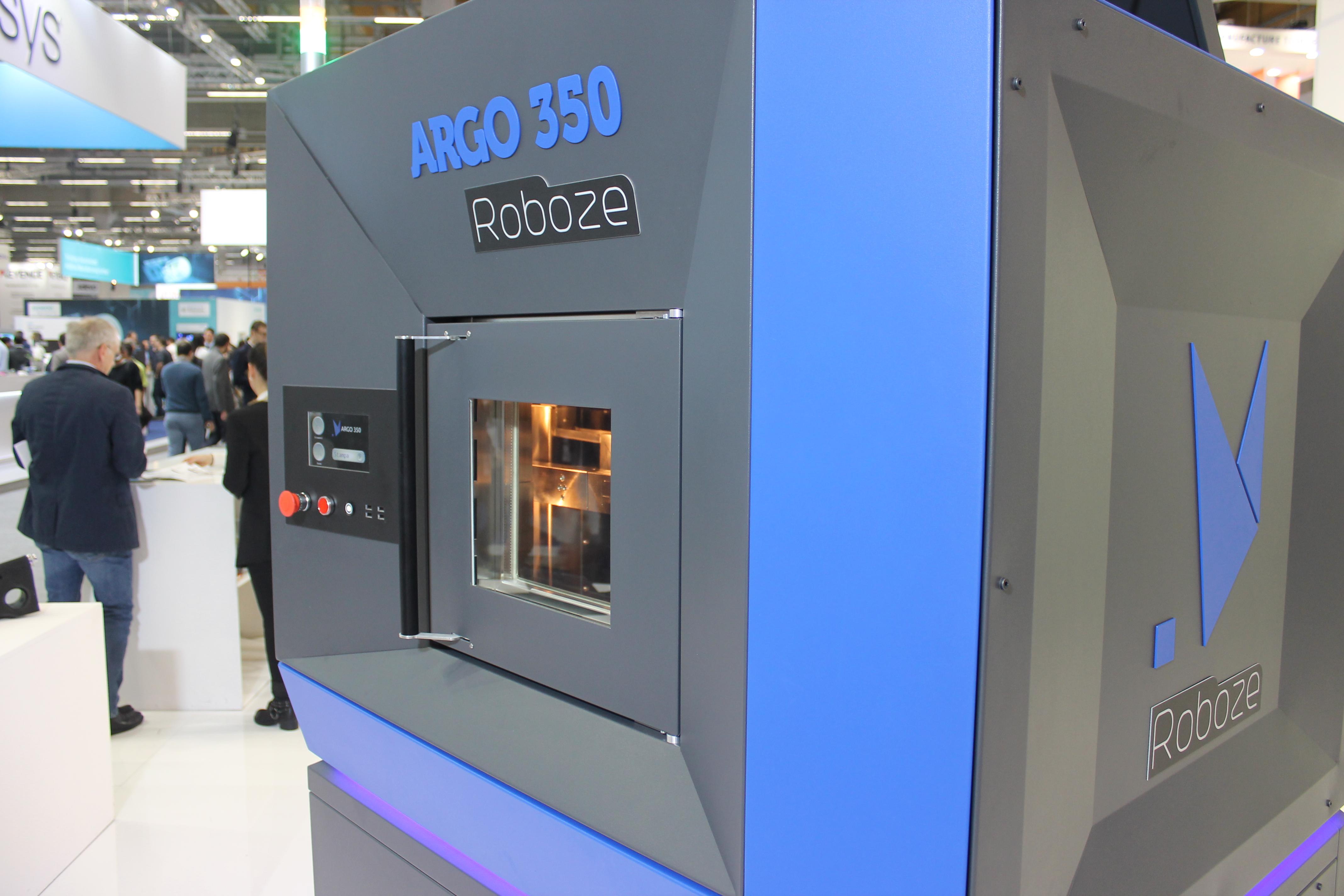The ROBOZE ARGO 350 3D printer. Photo via ROBOZE