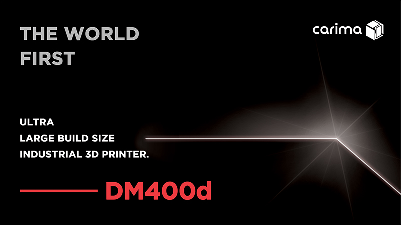 The DM400d system is set to premier at this year's Formnext show. Image via Carima.