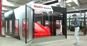 Visual of the Modix MAMA 3D printer. Image via Modix