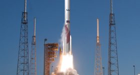 Launch of Atlas V Juno from Cape Canaveral AFS. Photo via Oerlikon.