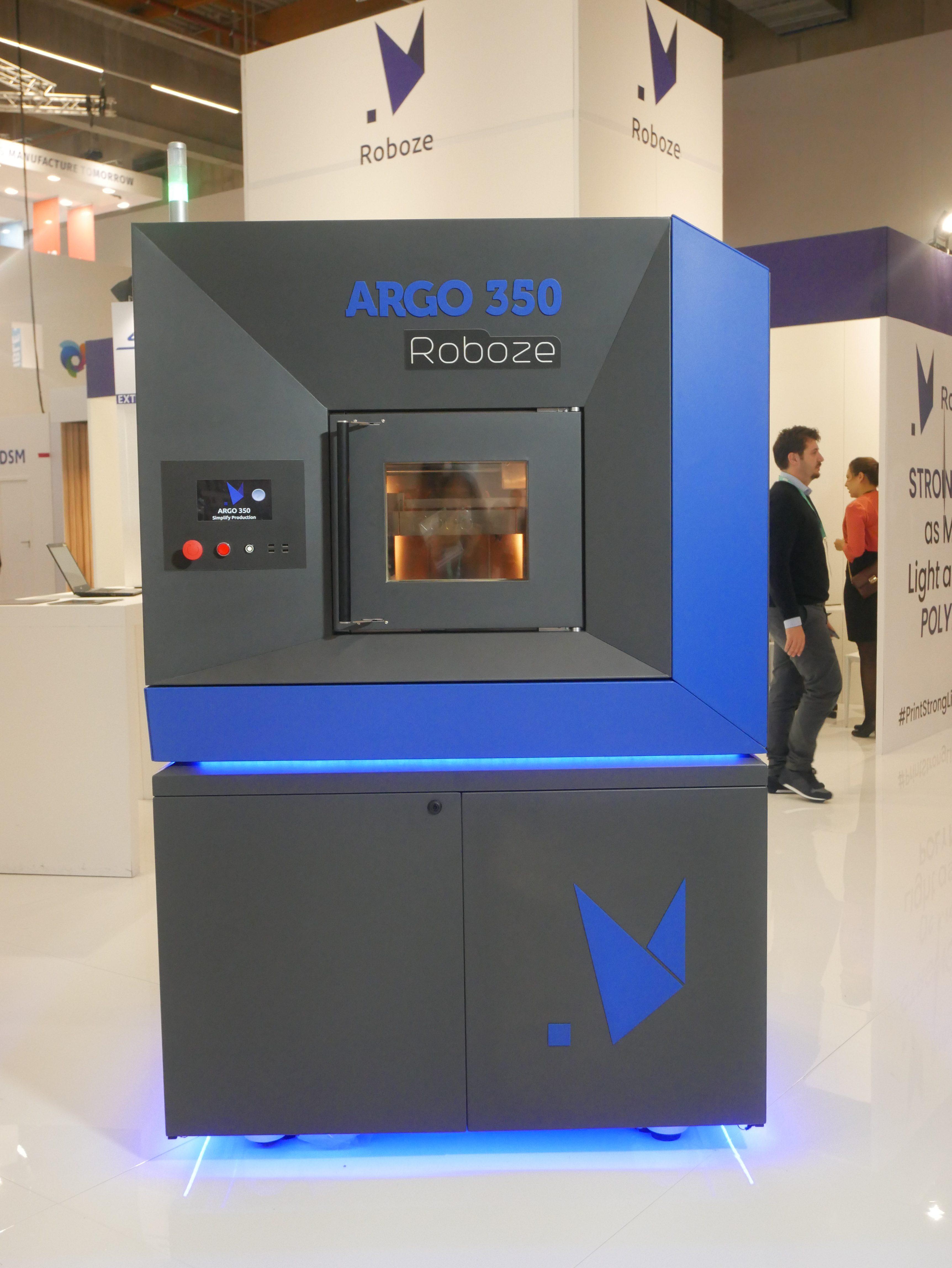 The ARGO 350 3D printer at Formnext 2019. Photo by Tia Vialva.