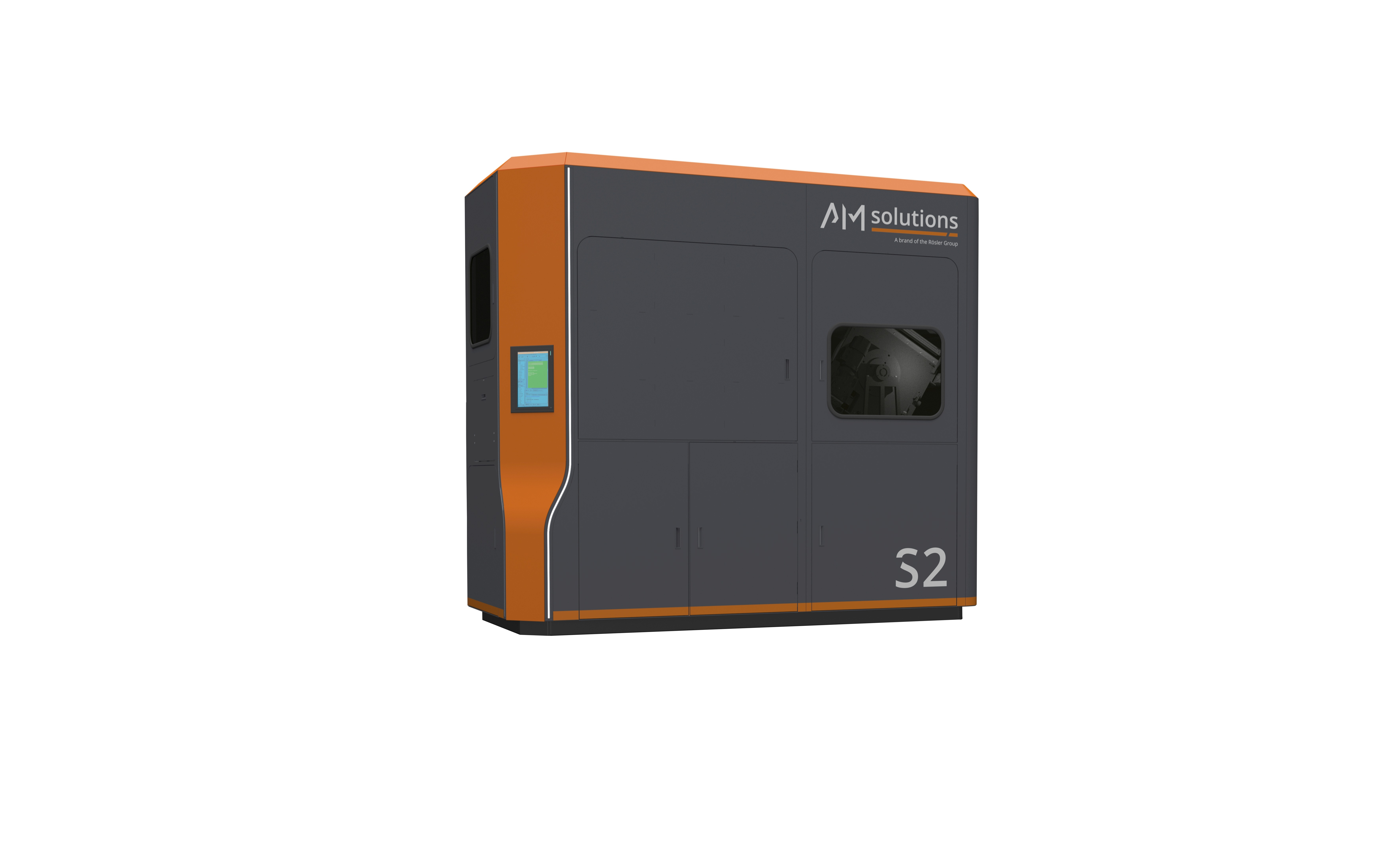 The S2 3D post processing offers system. Photo via AM Solutions.