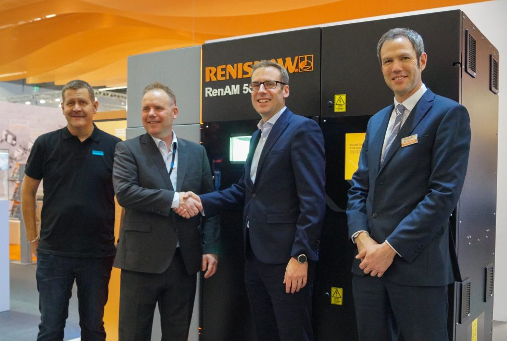 Sandvik and Renishaw collaborate to qualify new materials for Additive Manufacturing. Photo via Sandvik.