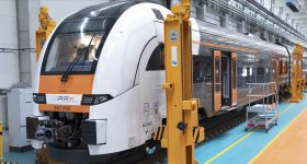 The Siemens Mobility RRX Rail Service Center utilizes Stratasys' Rail Industry Solution at the heart of its servicing operation. Photo via Stratasys.