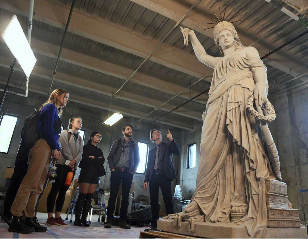 9ft 3D printed replica of Pio Fedi's Liberty of Poetry statue
