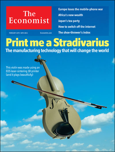 The February 2014 cover of The Economist.