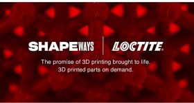 The Loctite powered by Shapeways logo. Image via Loctite and Shapeways