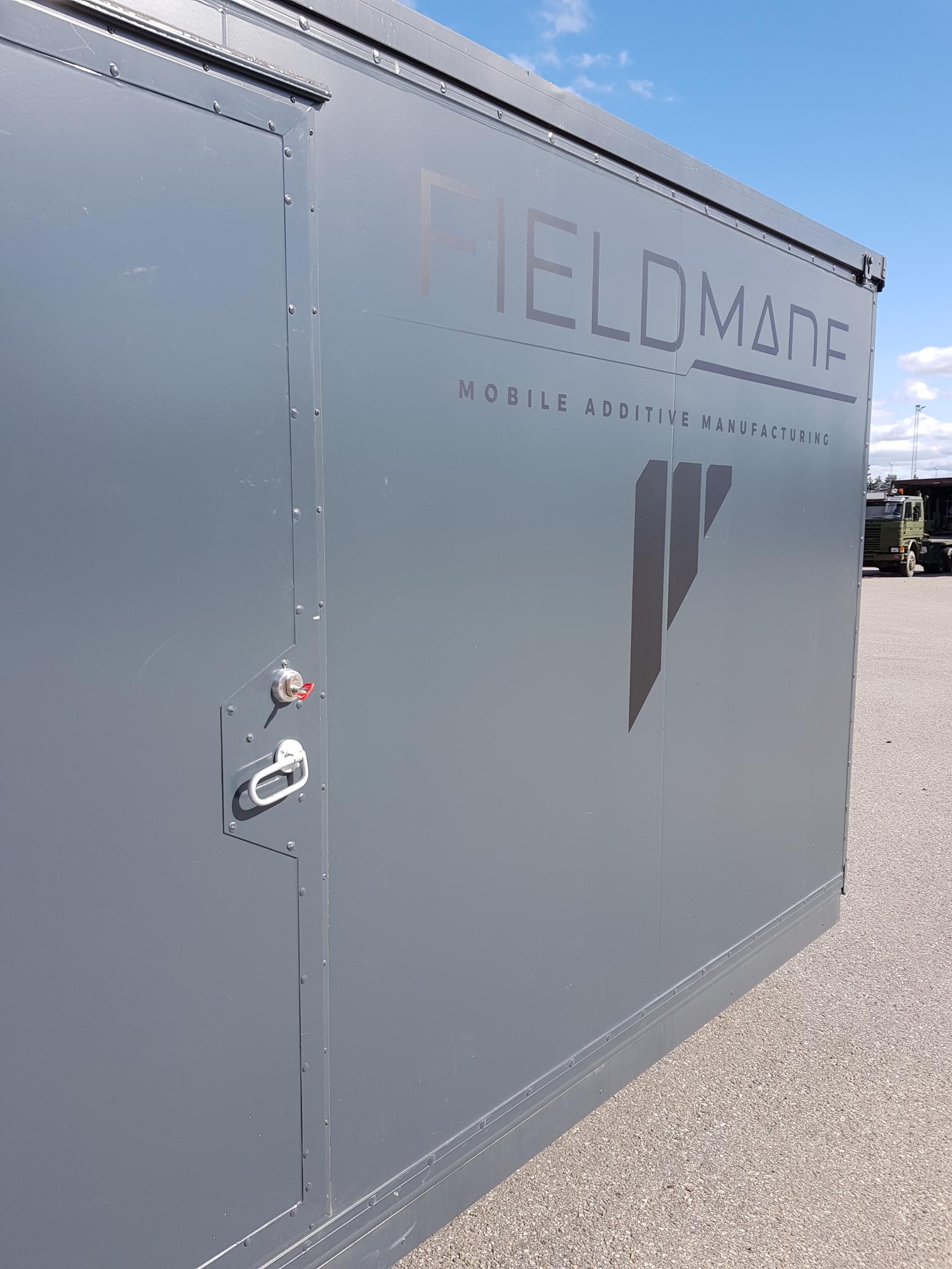 Fieldmade's NOMAD microfactory featuring an Urban Alps Stealth Key. Photo via Urban Alps.