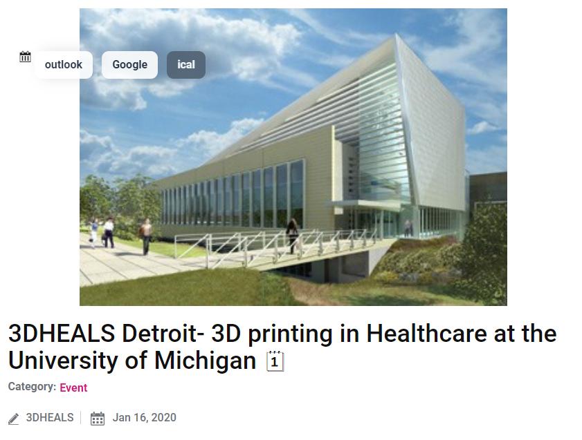 3DHEALS Detroit