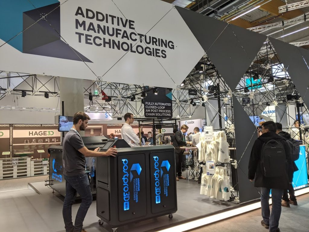 Additive Manufacturing Technologies at formnext 2019. Photo by Michael Petch.