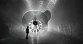 The DLR's low speed wind tunnel in Braunschweig. Photo by DNW