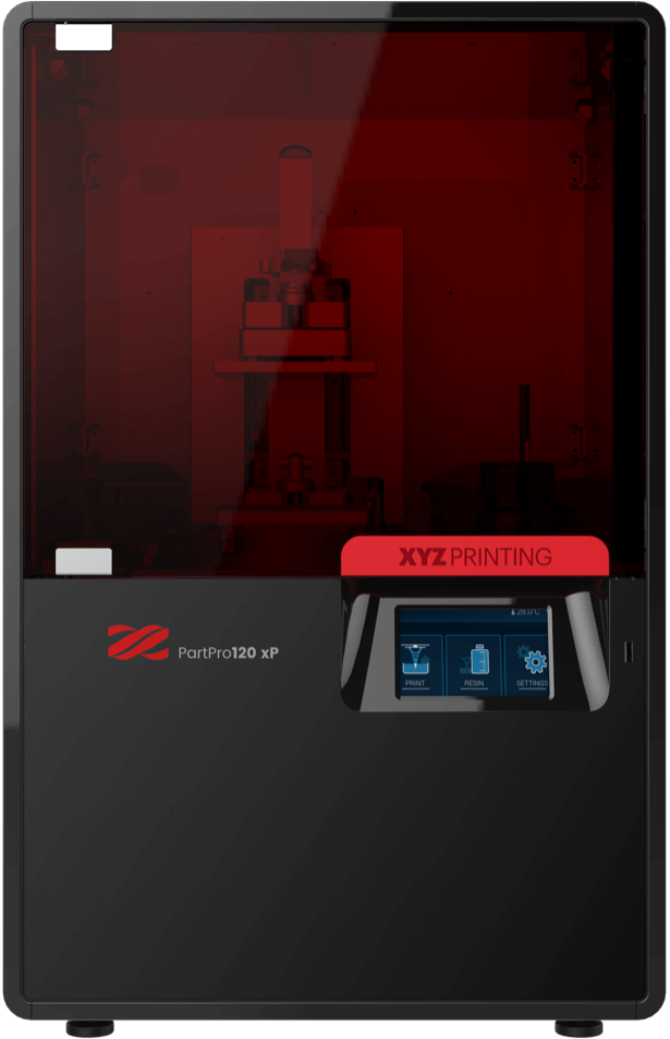 The PartPro120 xP 3D printer. Photo via XYZprinting.