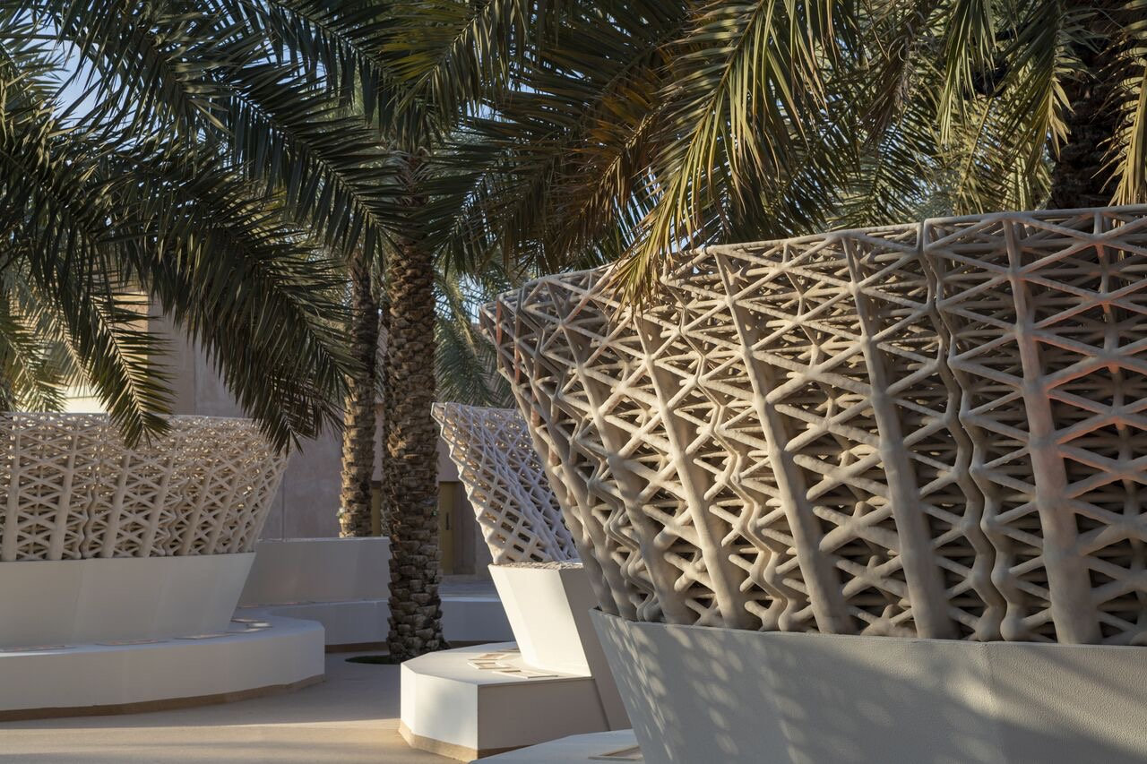 The Sandwaves structure. Photo via Precht/Mamou-Mani.