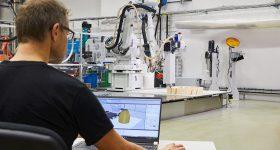 ABB's new software for robotics 3D printing. Photo via ABB.